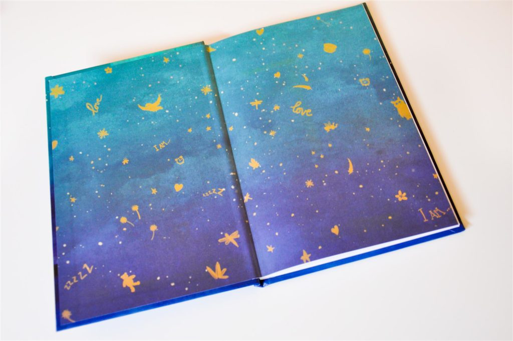 sleepy magic endpapers