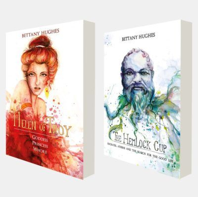 Helen of Troy I The Hemlock Cup – Book cover Design
