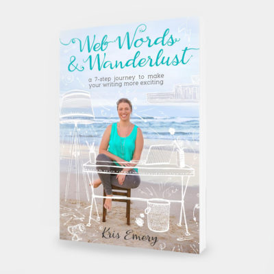 Web Words & Wanderlust – eBook Cover and Interior Layout
