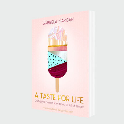 A taste for life – Book Cover Design