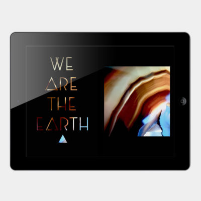 We Are The Earth – Article Design