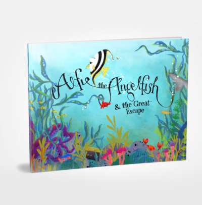 Alfie Angelfish and the Great Escape – Picture Book